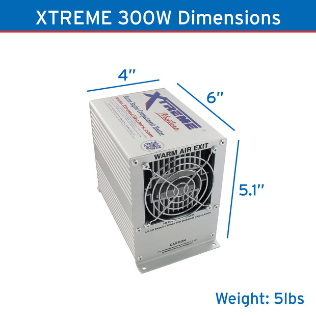 Xtreme Heaters Small 300W XHEAT Boat Bilge and RV Heater
