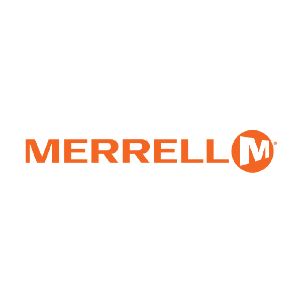 Merrell M Shoe Orange Logo