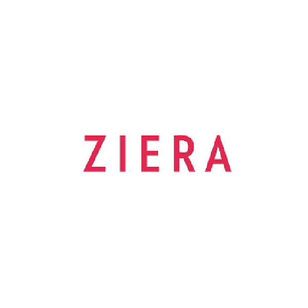 Ziera Shoe Brand Red Logo