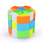 Rubiks cube cylindre verticale
