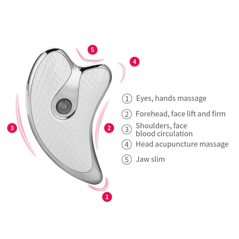 Electric Micro-current Face Lifting USB Rechargeable Gua Sha
