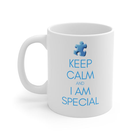 Keep Calm I am Special Mug 11oz