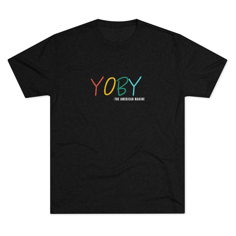 YOBY - the American Marine Men's Tri-Blend Crew Tee