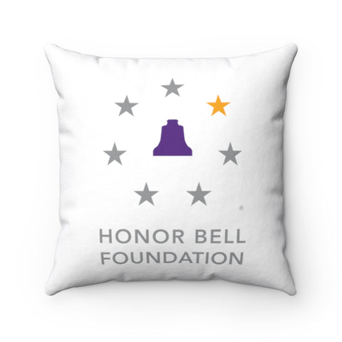 Honor Bell Foundation Spun Polyester Square Pillow