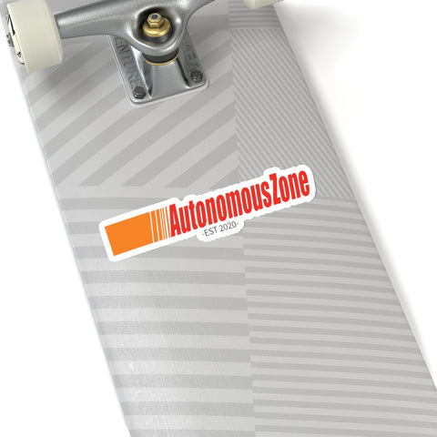 Get In The Zone! The Autonomous Zone Sticker