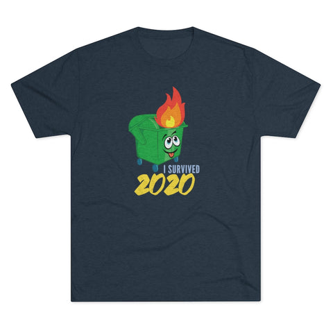 I Survived 2020 Men's Tri-Blend Crew Tee