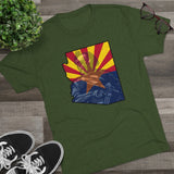 Arizona Veteran Men's Tri-Blend Crew Tee