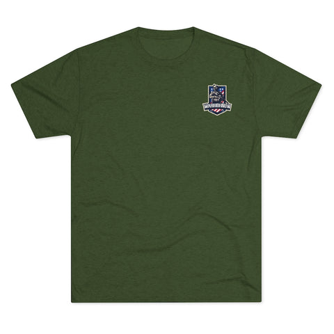 WarriorNOW Men's Tri-Blend Crew Tee