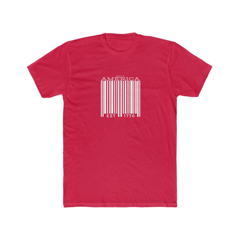 Made in America Men's Cotton Crew Tee