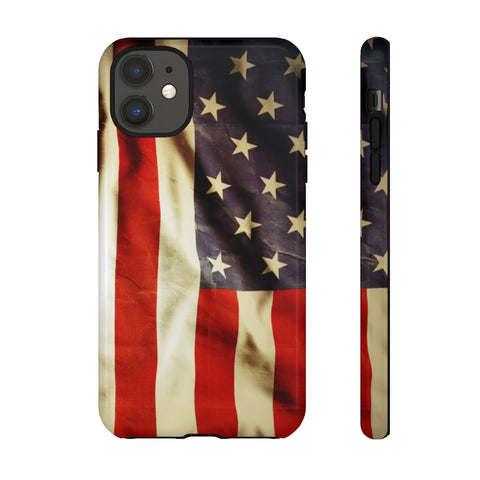 American Flag iPhone 11 Tough Cases