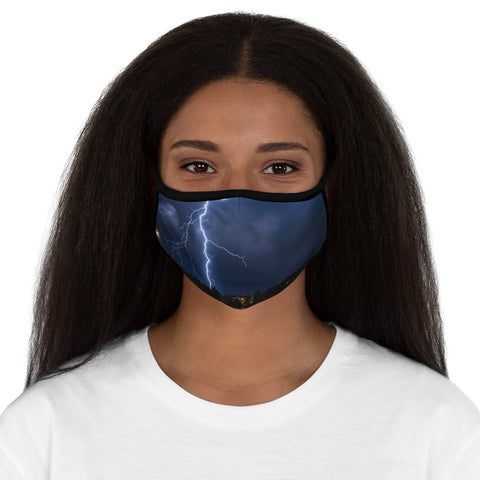 Colorado Lighting Fitted Polyester Face Mask