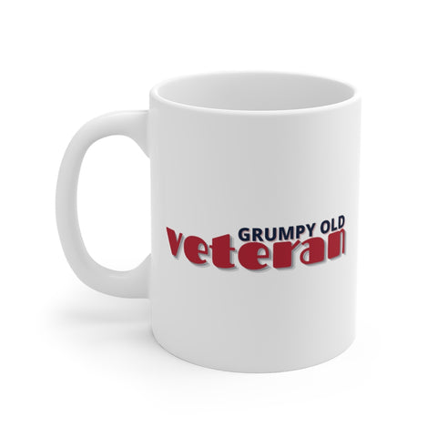 Grumpy Old Veteran Mug 11oz