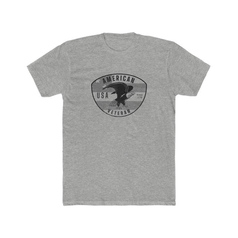 American Veteran Men's Cotton Crew Tee