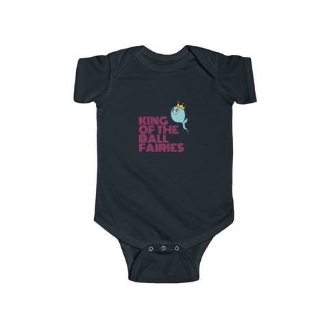 King of the Ball Fairies Infant Jersey Bodysuit