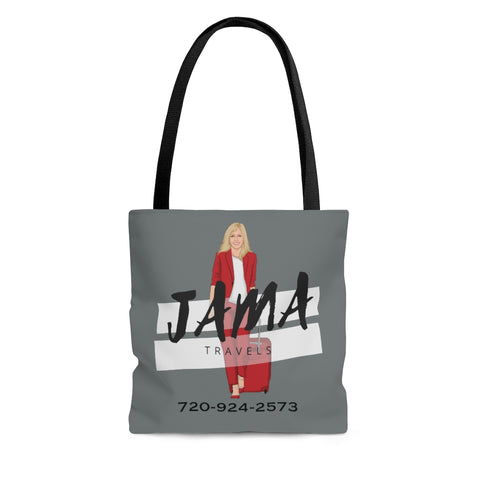 Jama Grey Tote Bag