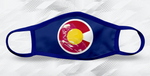 Colorado Veteran Blue Face Mask