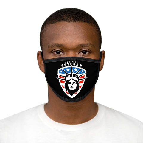 New York Veteran Mixed-Fabric Face Mask