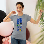 Born to be a Warrior Women's Triblend Tee