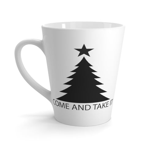 Come and Take It Latte Mug