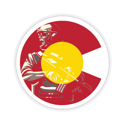 Colorado Warrior Kiss-Cut Stickers