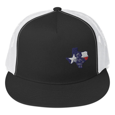 Texas Veteran Trucker Cap