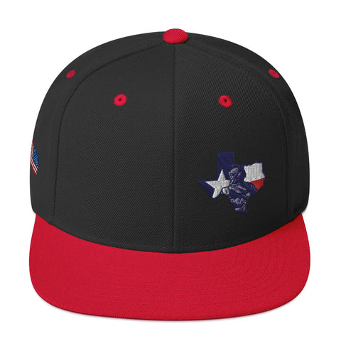 Texas Veteran Snapback Hat