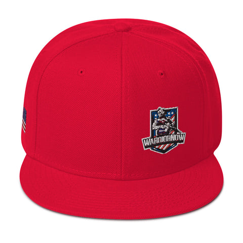 WarriorNOW Embroidered Snapback Hat
