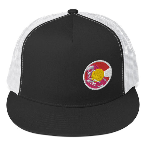 Colorado Veteran Trucker Cap