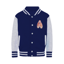 Load image into Gallery viewer, Varsity Jacket\Toe Shoes Print Varsity Jacket \Ballet Gift