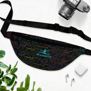 Best fanny pack \warrior graphic dancers fanny pack