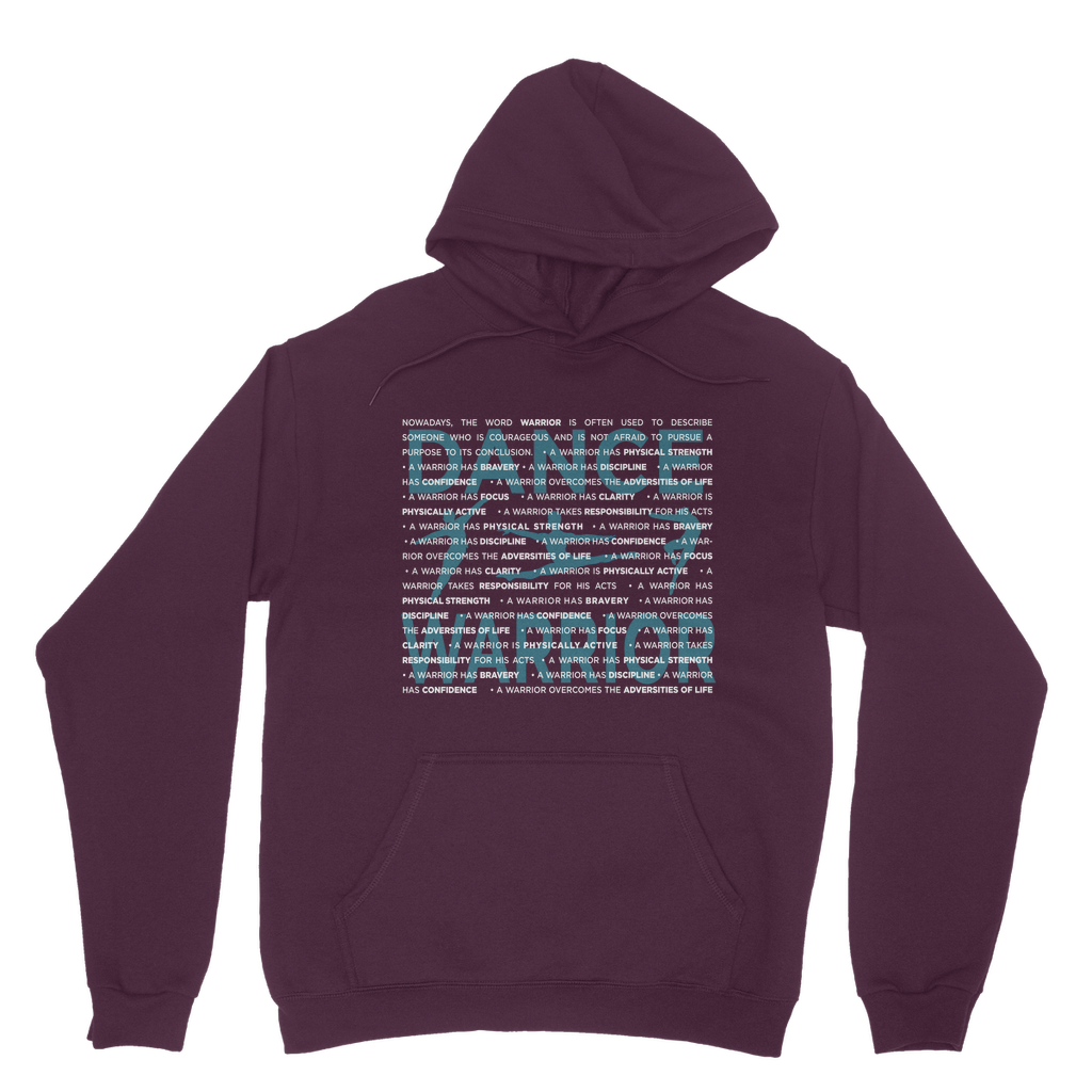 Classic Male Hoodie With Dance Warrior Graphic\ Best Male Dancer Hoodie