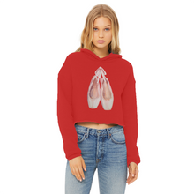 Load image into Gallery viewer, Toe Shoes Print Cropped Hoodie In Various Colors\Women Hoodie