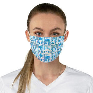 Eat, Sleep, Dance Fabric Face Mask | Dance Face mask | Face Mask | Dance | Dance Gift
