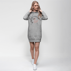 Adorable Ballet Geek Adult Hoodie Dress  | Jumper Dress | Ballet Apparel | Hoodie Dress