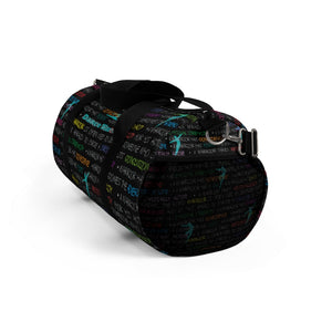Dancer Duffel Bag - Dance Warrior Graphic Print\Gift For Male Dancers