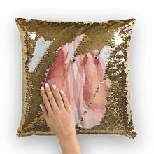 Загрузить изображение в средство просмотра галереи, Toe Shoes Sequin Pillow Cover Or W. Insert | Ballet Decor | Ballet Decorative Pillow | Toe Shoes - Ballet Geek