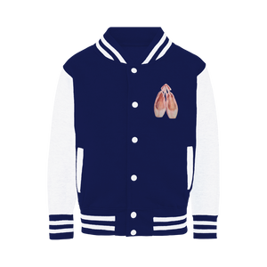 Varsity Jacket\Toe Shoes Print Varsity Jacket \Ballet Gift