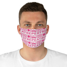 Load image into Gallery viewer, Eat, Sleep, Ballet Fabric Face Mask | Face mask | Dance Facemask | Ballet Facemask | Ballet - Ballet Geek