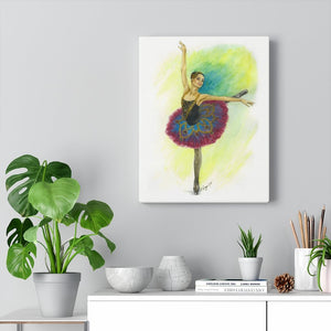 Canvas Gallery Wraps Ballerina Art | Canvas Art | Ballerina Art  | Canvas Art Home Decor | Ballet Gift - Ballet Geek
