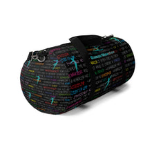 Load image into Gallery viewer, Dancer Duffel Bag - Dance Warrior Graphic Print\Gift For Male Dancers