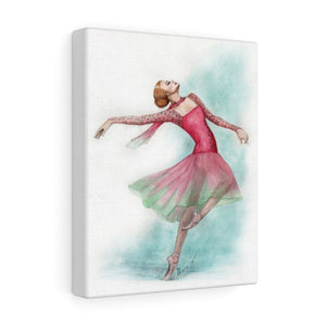 Canvas Gallery Wraps Ballerina Art | Ballet Art On Wall Canvas | Ballet Home Decor | Ballet Gift | Wall Art - Ballet Geek