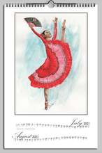 Load image into Gallery viewer, While I Breathe, I Dance Ballerinas 2021 Calendar | Calendar | 2021 Calendar - Ballet Geek