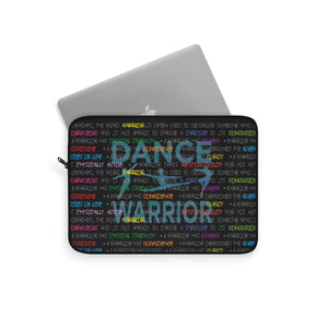 Dance warrior graphic premium laptop sleeve\gifts for male dancers