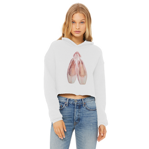 Toe Shoes Print Cropped Hoodie In Various Colors\Women Hoodie