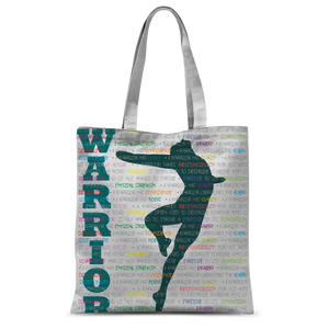 Classic Tote Bag Warrior Pose Graphic Print\Male Dancer Tote Bag
