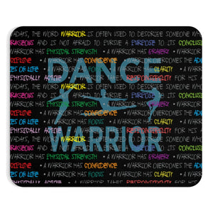 Dance warrior graphic mouse pad\ gift for male dancers