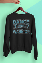 Load image into Gallery viewer, Male dancer graphic sweatshirt - Dance Warrior\male dance apparel gift