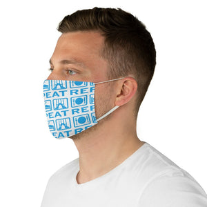Eat, Sleep, Dance Fabric Face Mask | Dance Face mask | Face Mask | Dance | Dance Gift - Ballet Geek