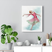 Load image into Gallery viewer, Canvas Gallery Wraps Ballerina Art | Ballet Art On Wall Canvas | Ballet Home Decor | Ballet Gift | Wall Art - Ballet Geek