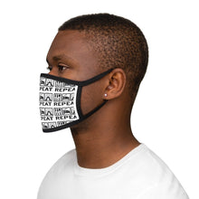 Cargar imagen en el visor de la galería, Eat, Sleep, Dance Mixed-Fabric Face Mask | Dance Face Mask | Dance Accessory - Ballet Geek